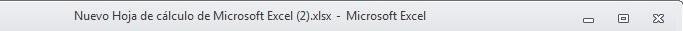 Excel 02_02- La barra de titulo