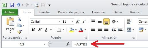 Excel 02_07 La barra de formulas