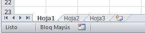 Excel 02_08 La barra de etiquetas