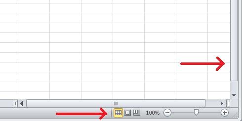 Excel 02_09 Barras de desplazamiento y botones de vistas