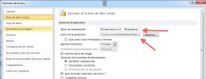 Microsoft Access - Configuración Icono