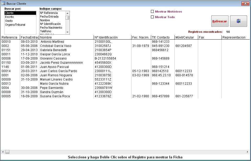 Microsoft Access - Multibuscador