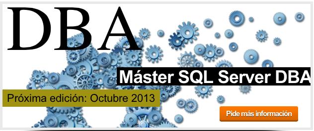 Máster SQL Server DBA