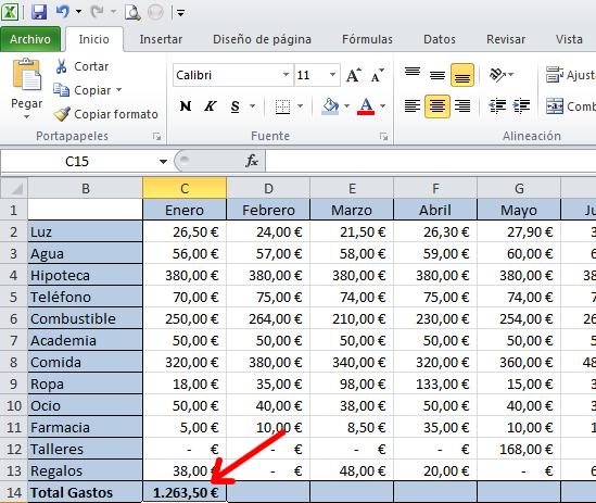 Excel – controlador de relleno para copiar fórmulas. – Programación ...