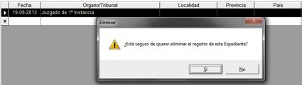 Access Gestión Msgbox