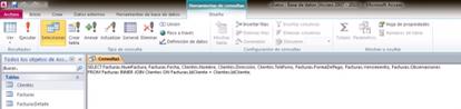 Microsoft Access consulta sql
